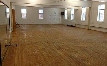 large aerobic room